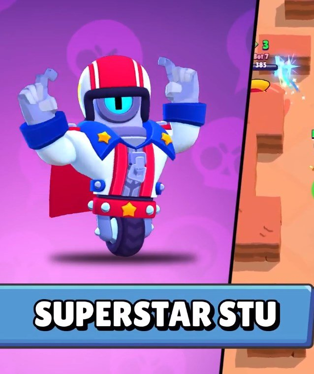 Cómo conseguir a SuperStar Stu en Brawl Stars