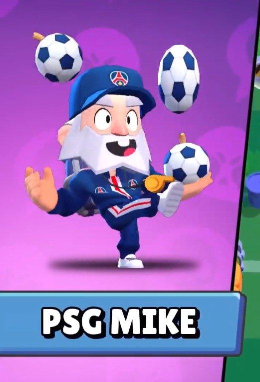 Cómo conseguir a PSG Mike en Brawl Stars
