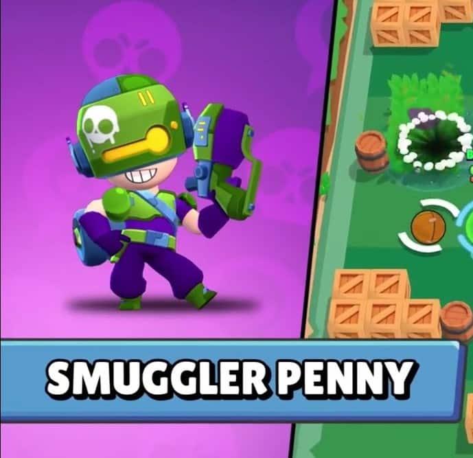 Cómo conseguir a Smuggler Penny en Brawl Stars