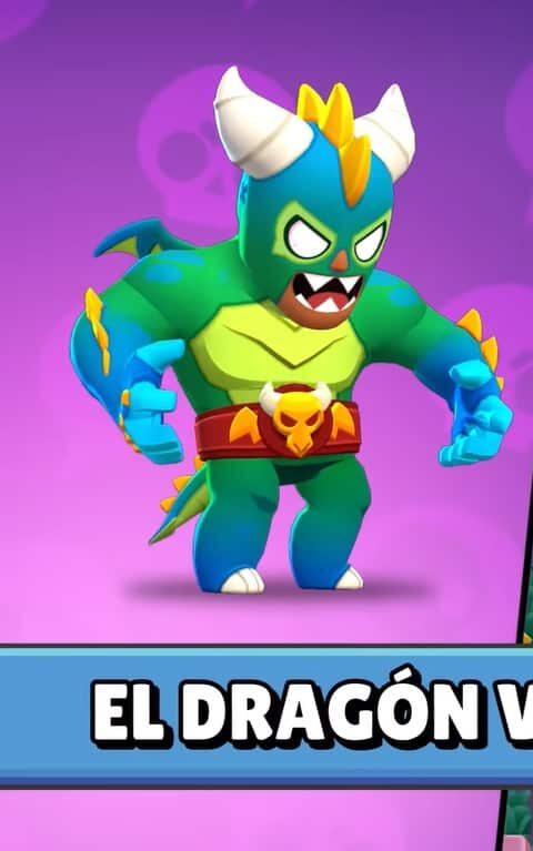 dragon verdoso