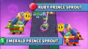 Como conseguir a Esmerald prince sprout gratis en Brawl stars